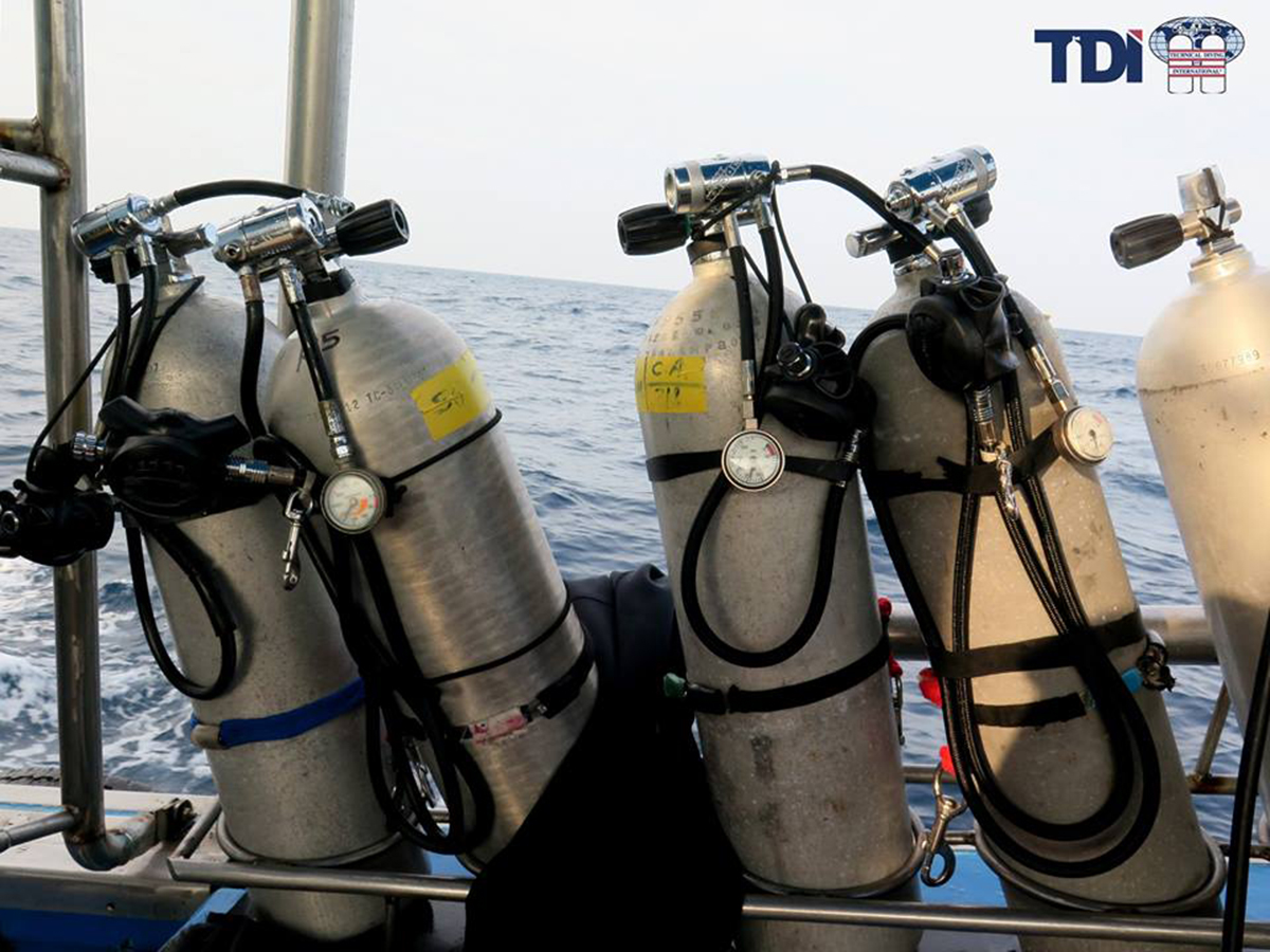TDI decompression procedures course in Playa del Carmen